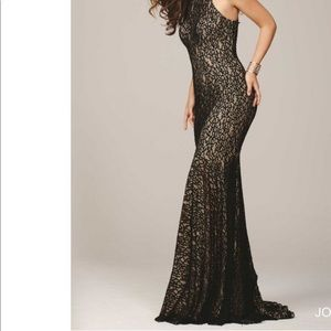 NWT jovani Fitted Dress model 25100